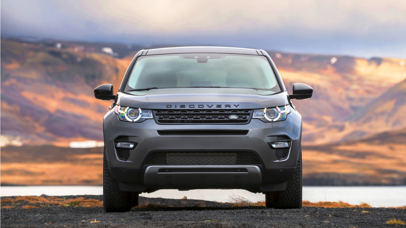 Wallpaper Land Rover Discovery Sport: Land Rover Discovery Sport 2017 Wallpapers
