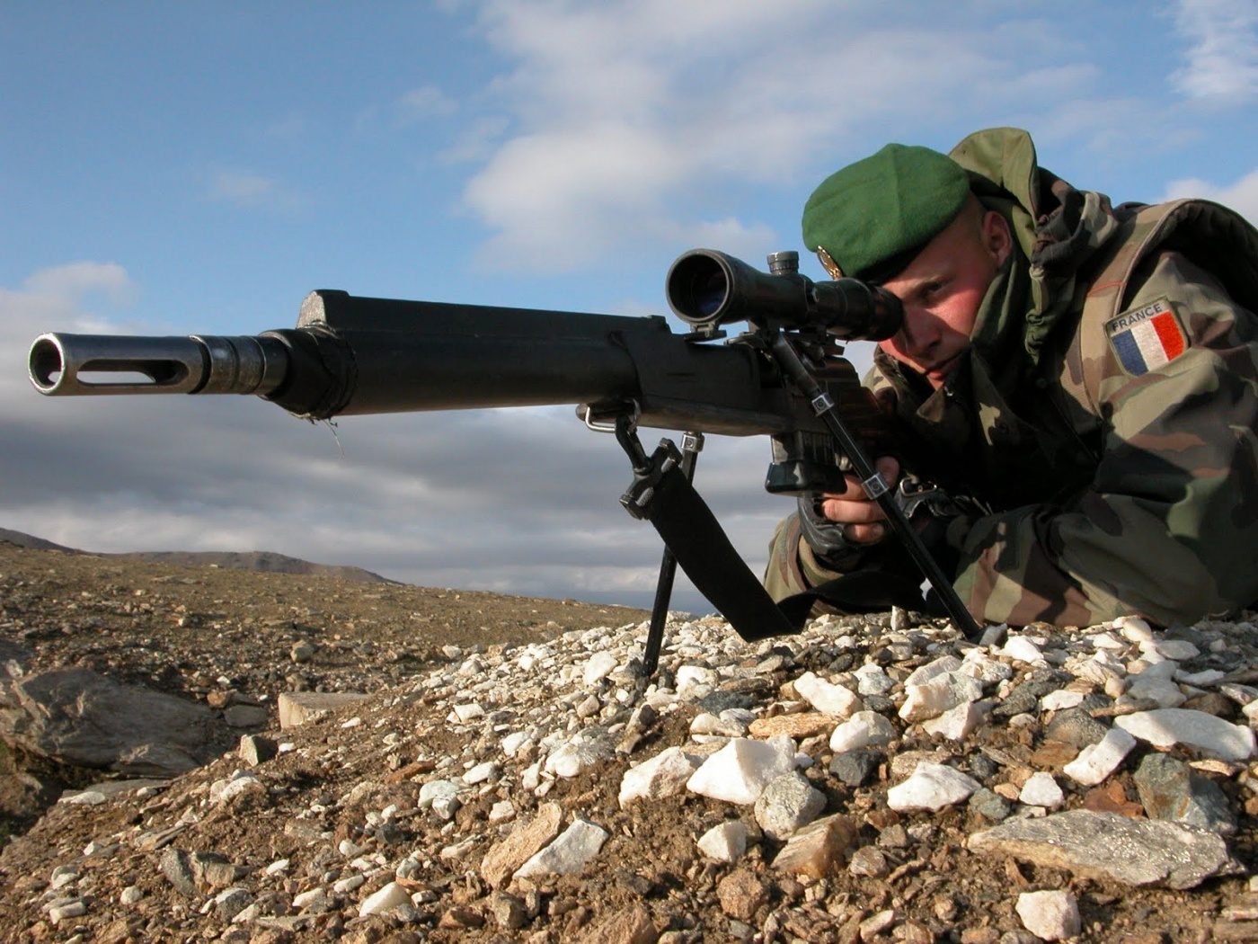 French Foreign Legion Sniper Rifle