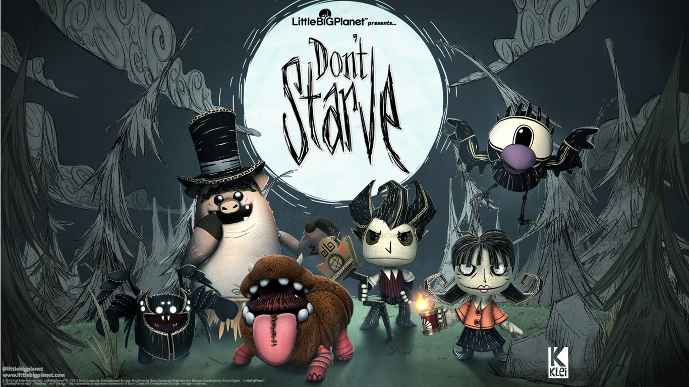 Little Big Planet 3 Dont Starve Wallpapers 1366x768 442964