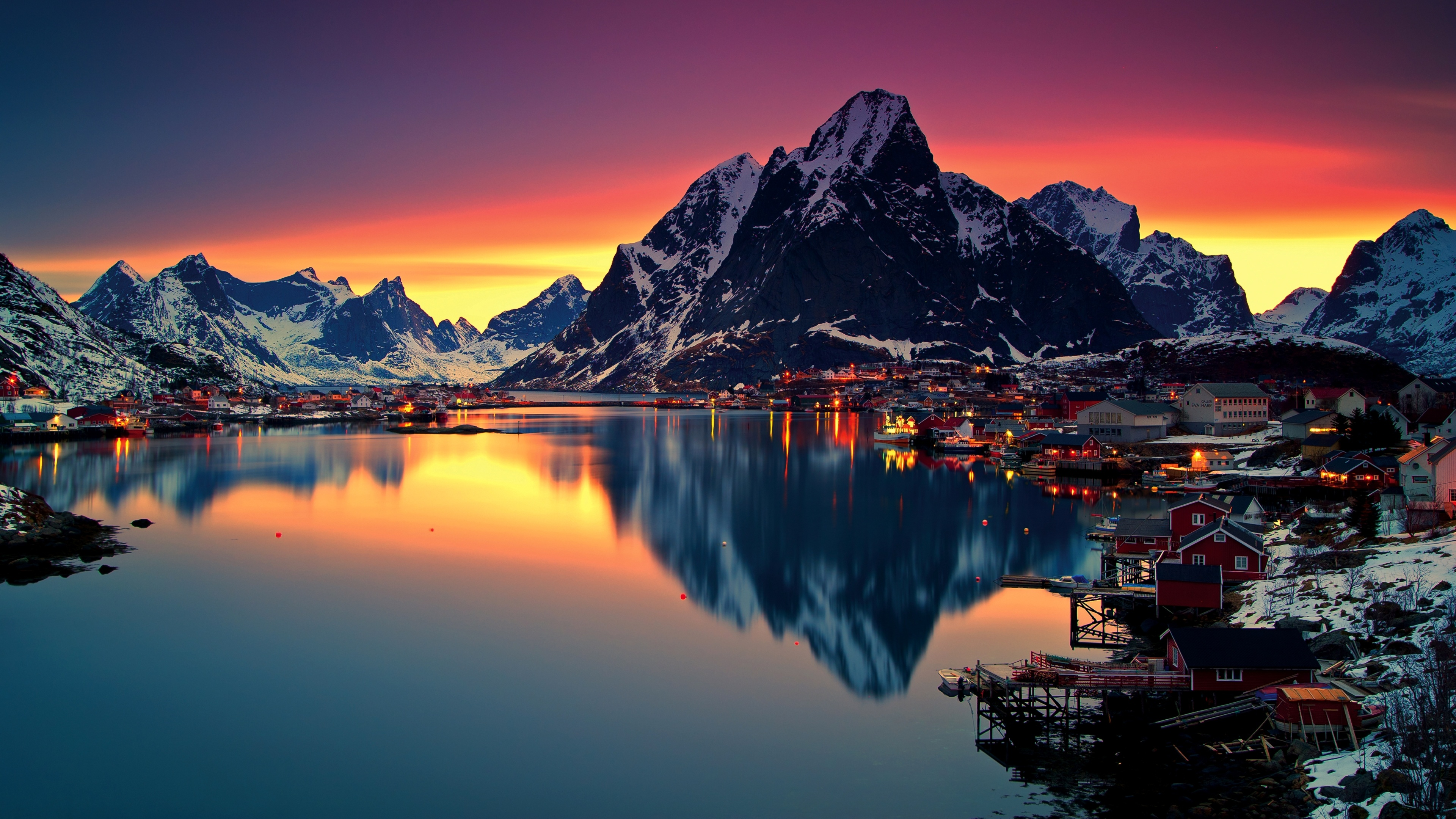 Lofoten Norway Wallpapers - 3840x2160