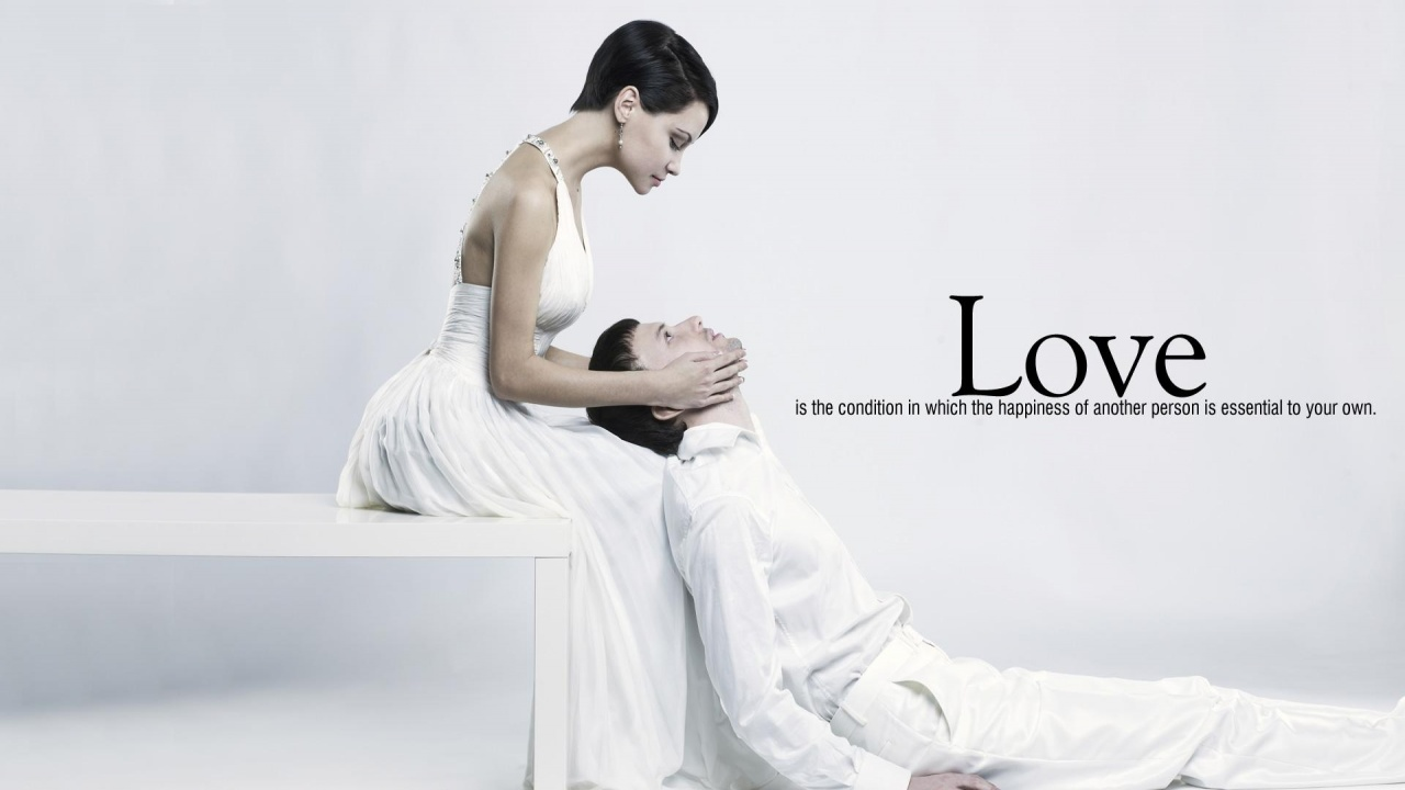 Emotional Love couple Wallpaper : Love Quotes Wallpapers - 1280x720 - 127174