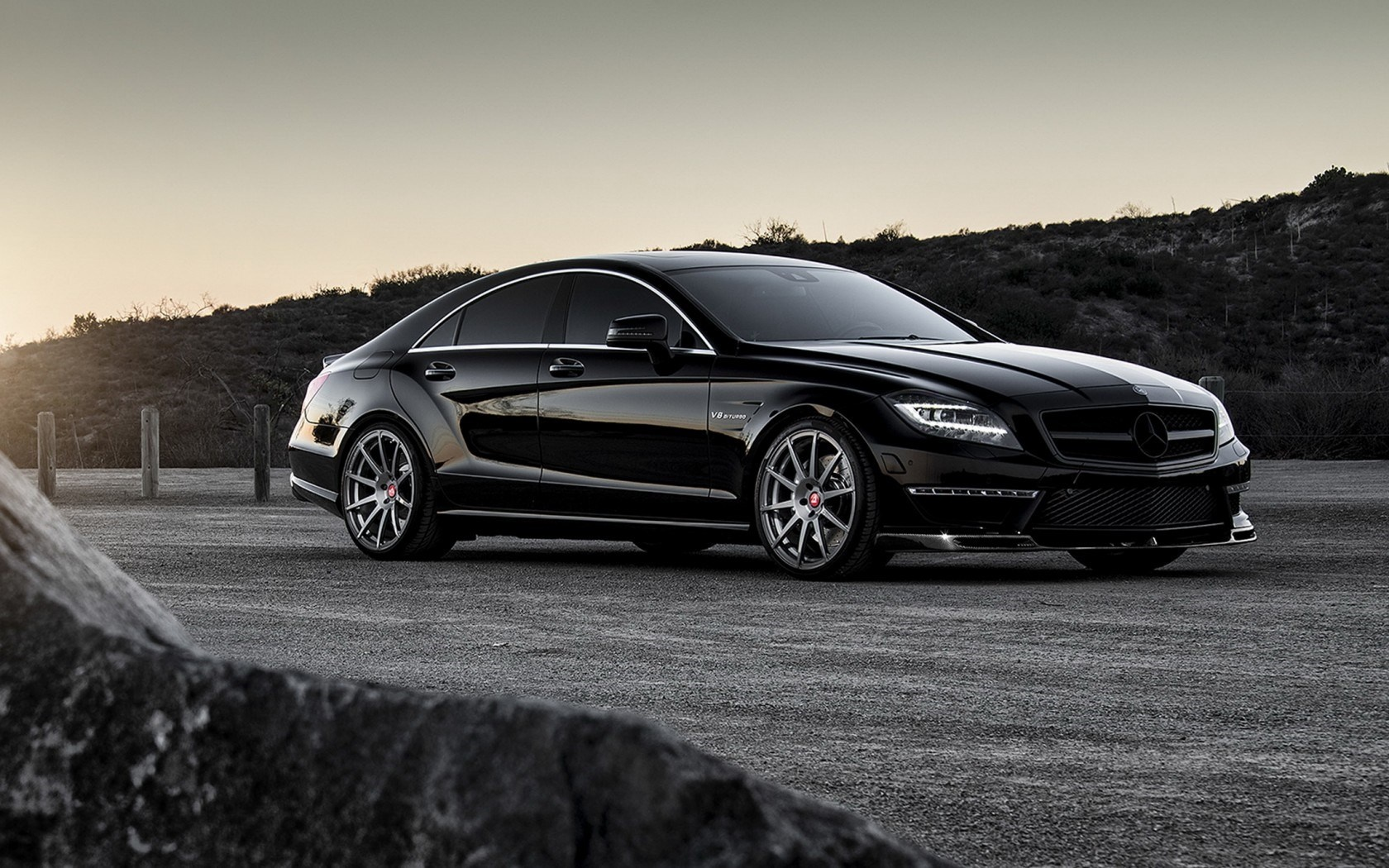 mercedes benz cls 63 amg tuning wallpapers 1680x1050. Black Bedroom Furniture Sets. Home Design Ideas