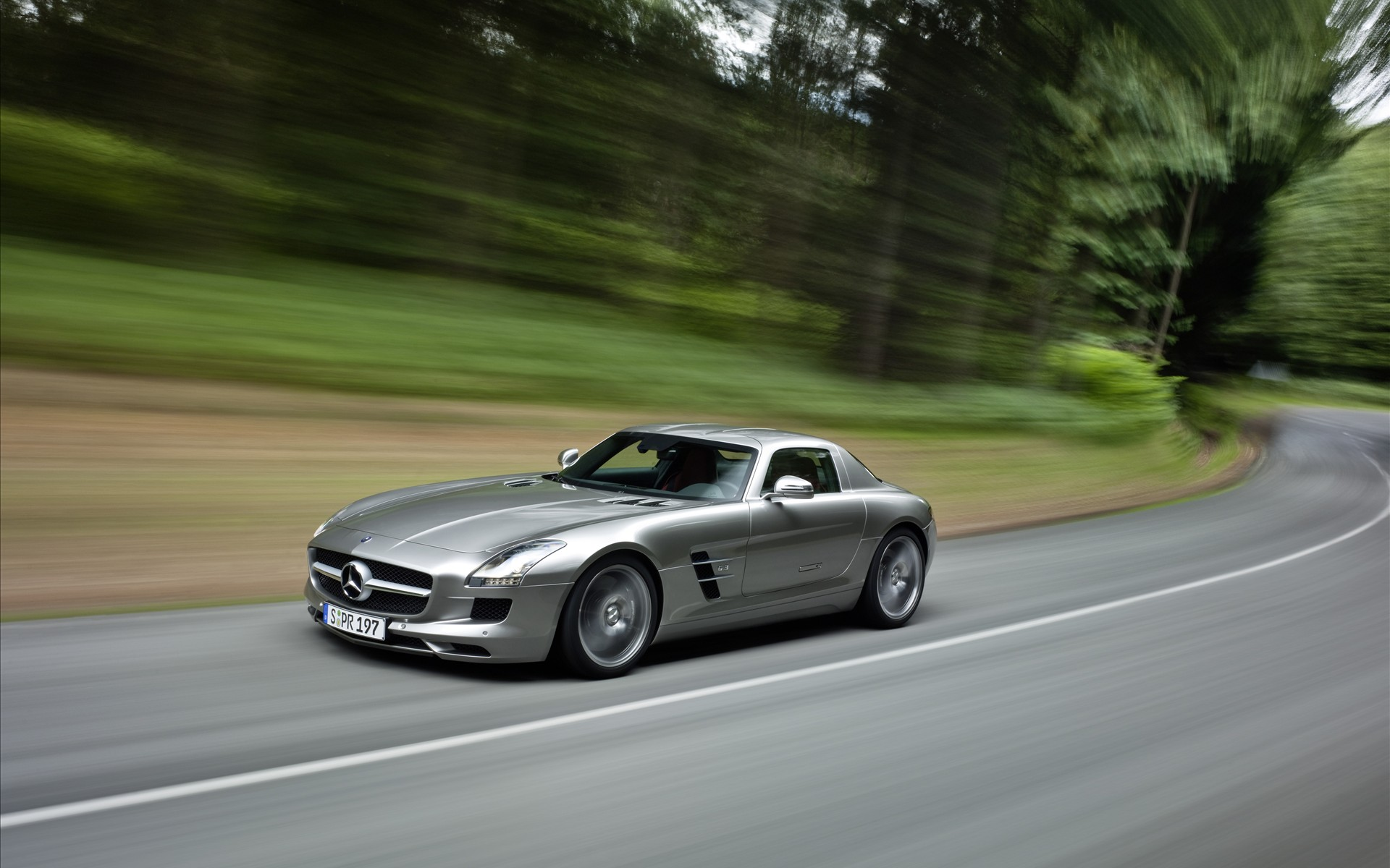 Mercedes Benz Sls Amg Wallpapers 1920x1200 330144