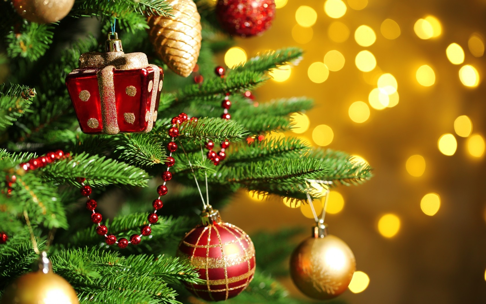 merry christmas ornaments tree wallpapers - 1680x1050 - 503732