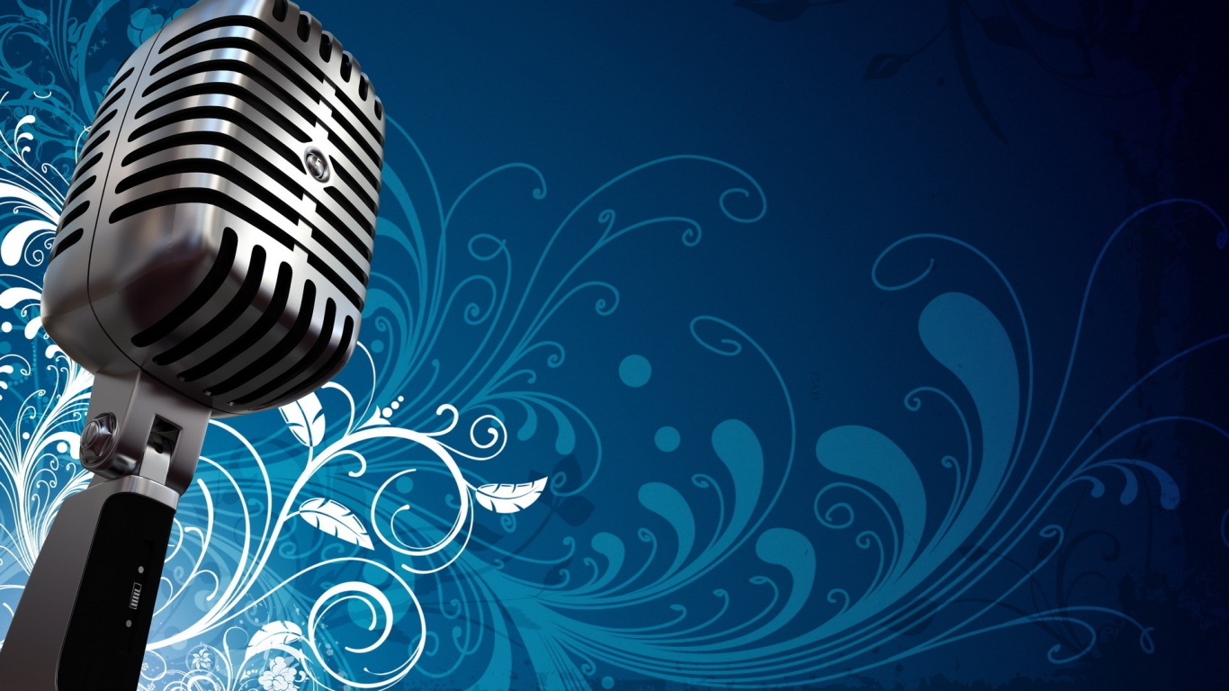 Microphone wallpapers 1366x768 302299 - Microphone wallpaper ...