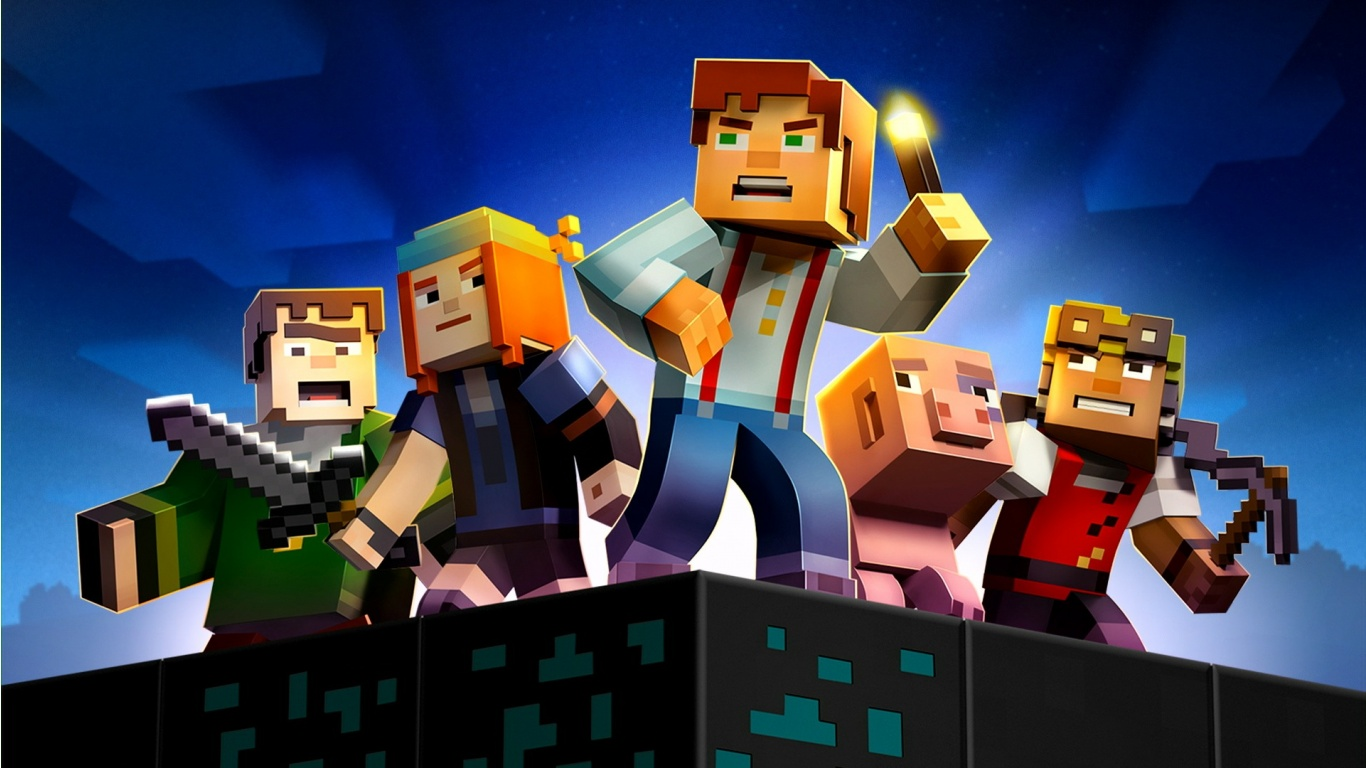Minecraft Story Mode 2015 | 1366 x 768 | Download | Close