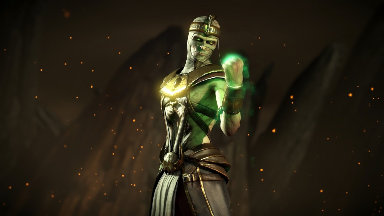 mortal kombat x ermac pharaoh skin wallpapers 1280x720