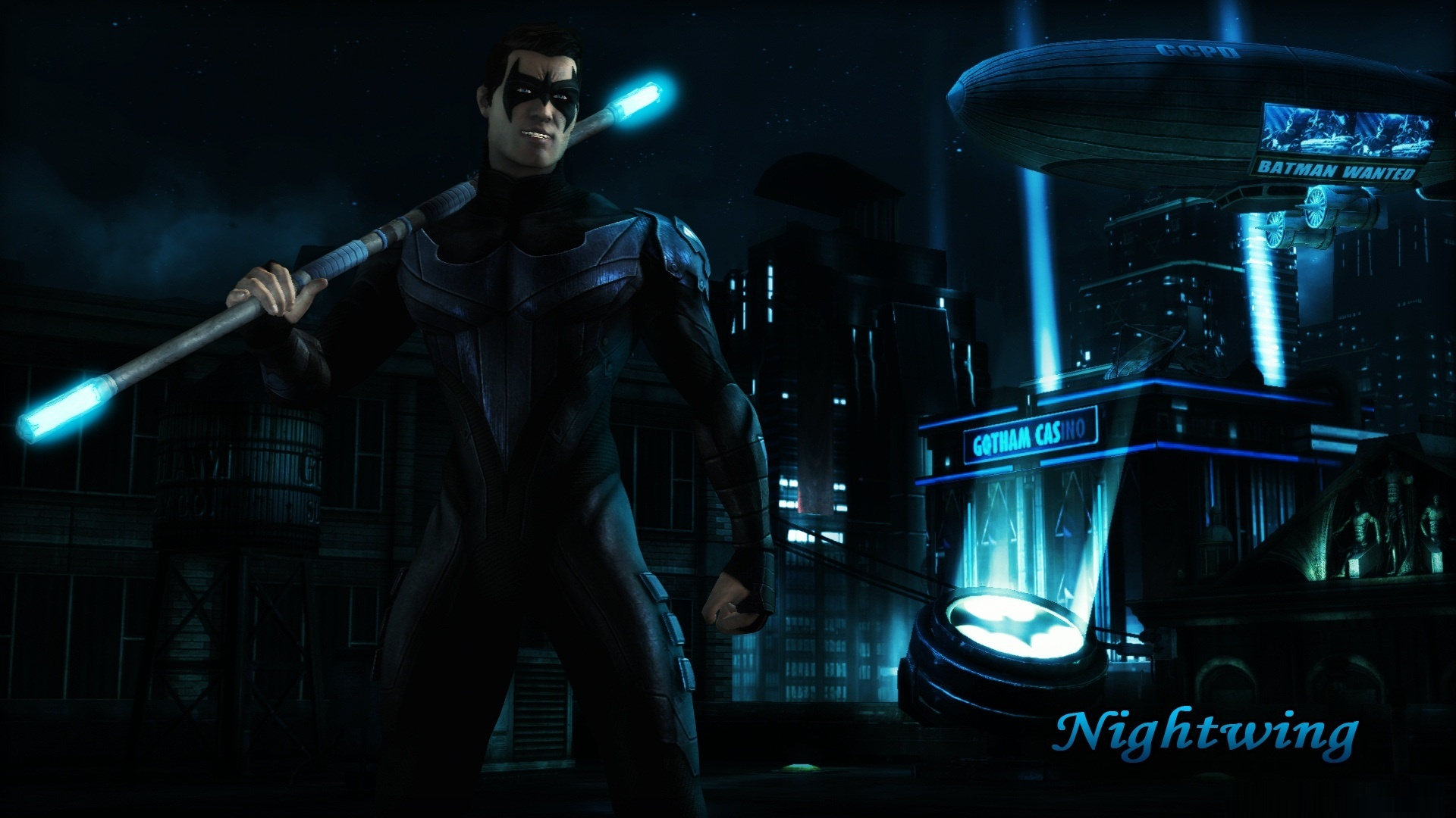 Nightwing Injustice Gods Among Us Wallpapers 1920x1080 428815