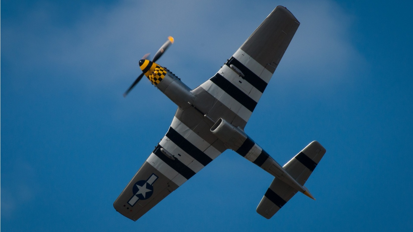 North American P 51 Mustang Wallpapers 1366x768 198246