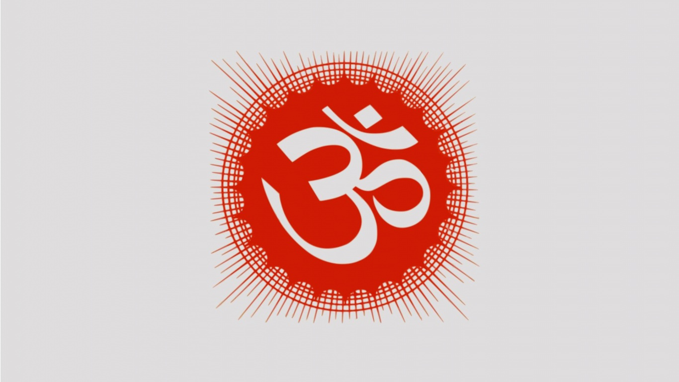 Om hindu symbols wallpapers 1366x768 163647 Om symbol images download