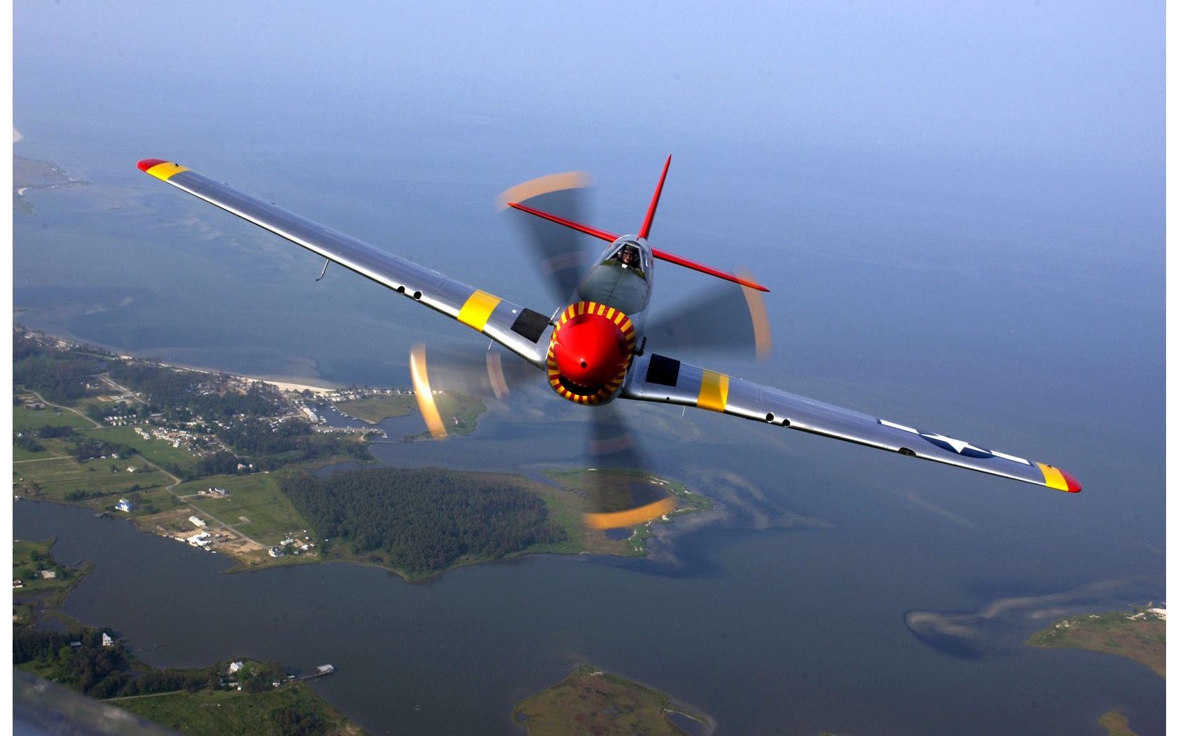 P 51 Mustang Wallpapers 1680x1050 416522