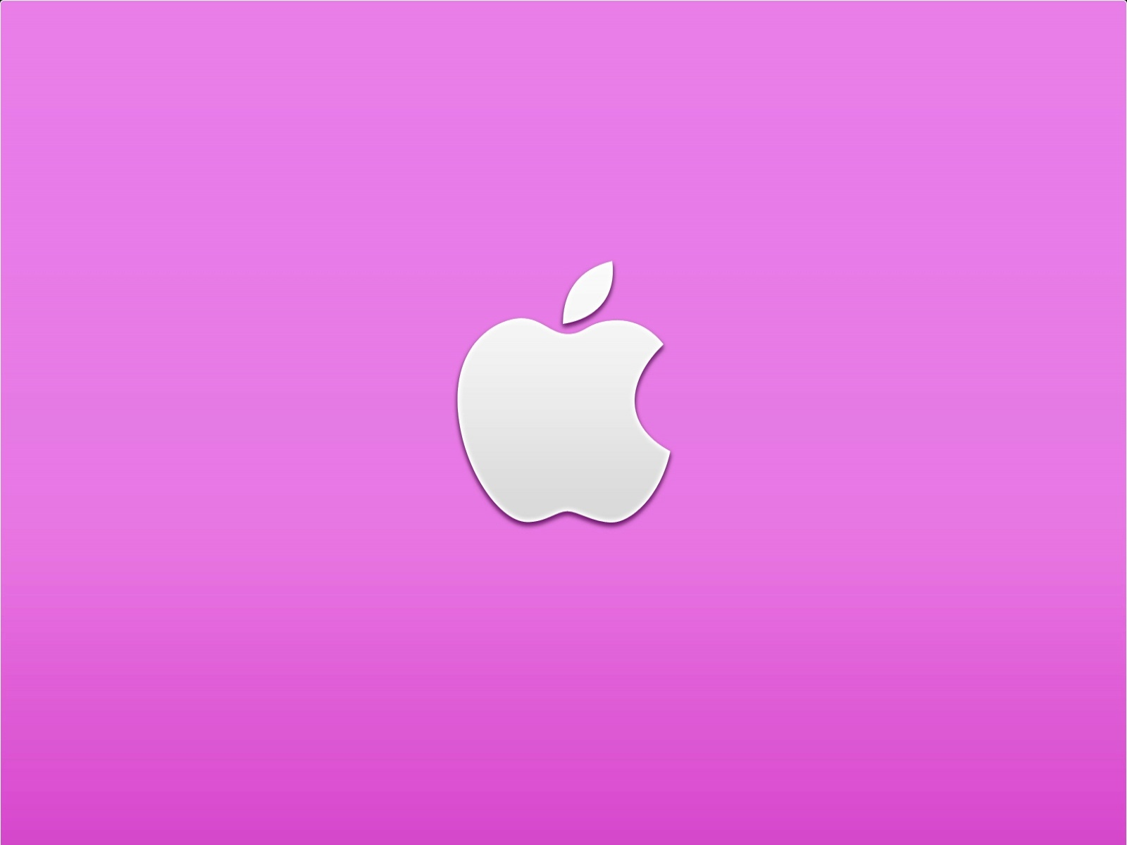 Pink Apple | 1600 x 1200 | Download | Close