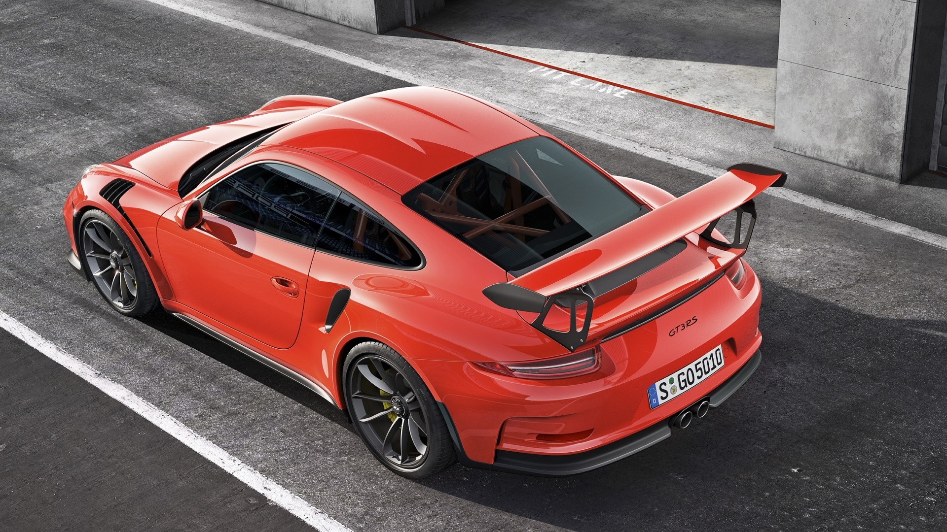Porsche 911 GT3 RS 2016 Wallpapers