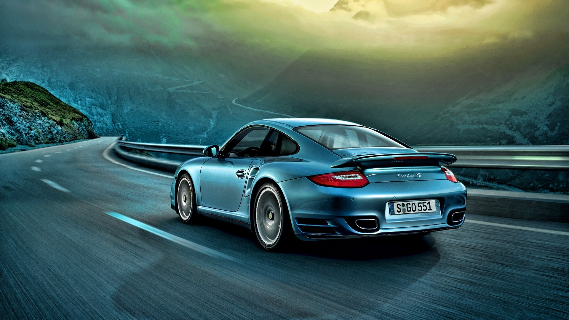 Porsche 911 Turbo S | 1920 x 1080 | Download | Close