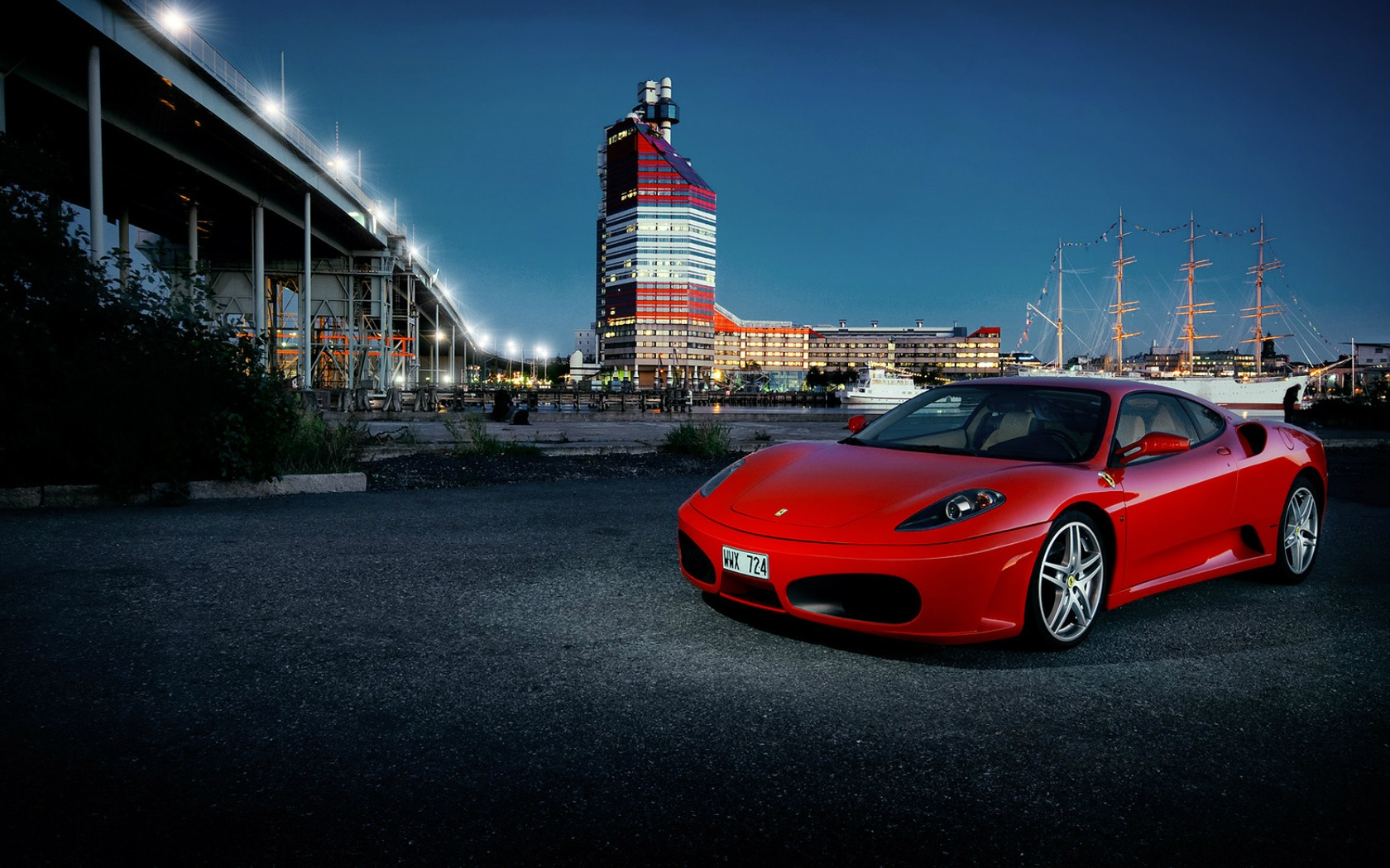 Download Wallpaper Night Ferrari - red_ferrari_f430_from_sweden-1680x1050  Picture-869750.jpg
