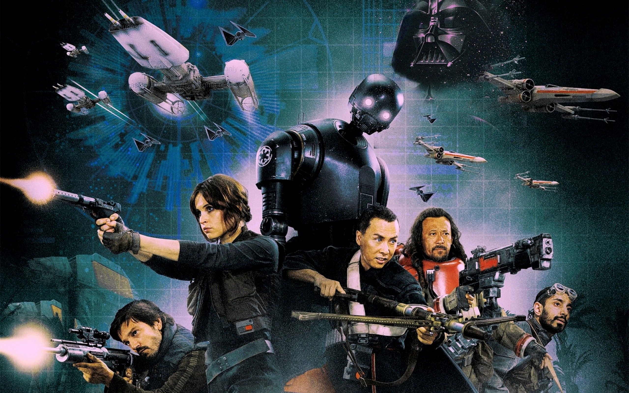 Rogue One A Star Wars Story All Characters | 2560 x 1600 | Download ...
