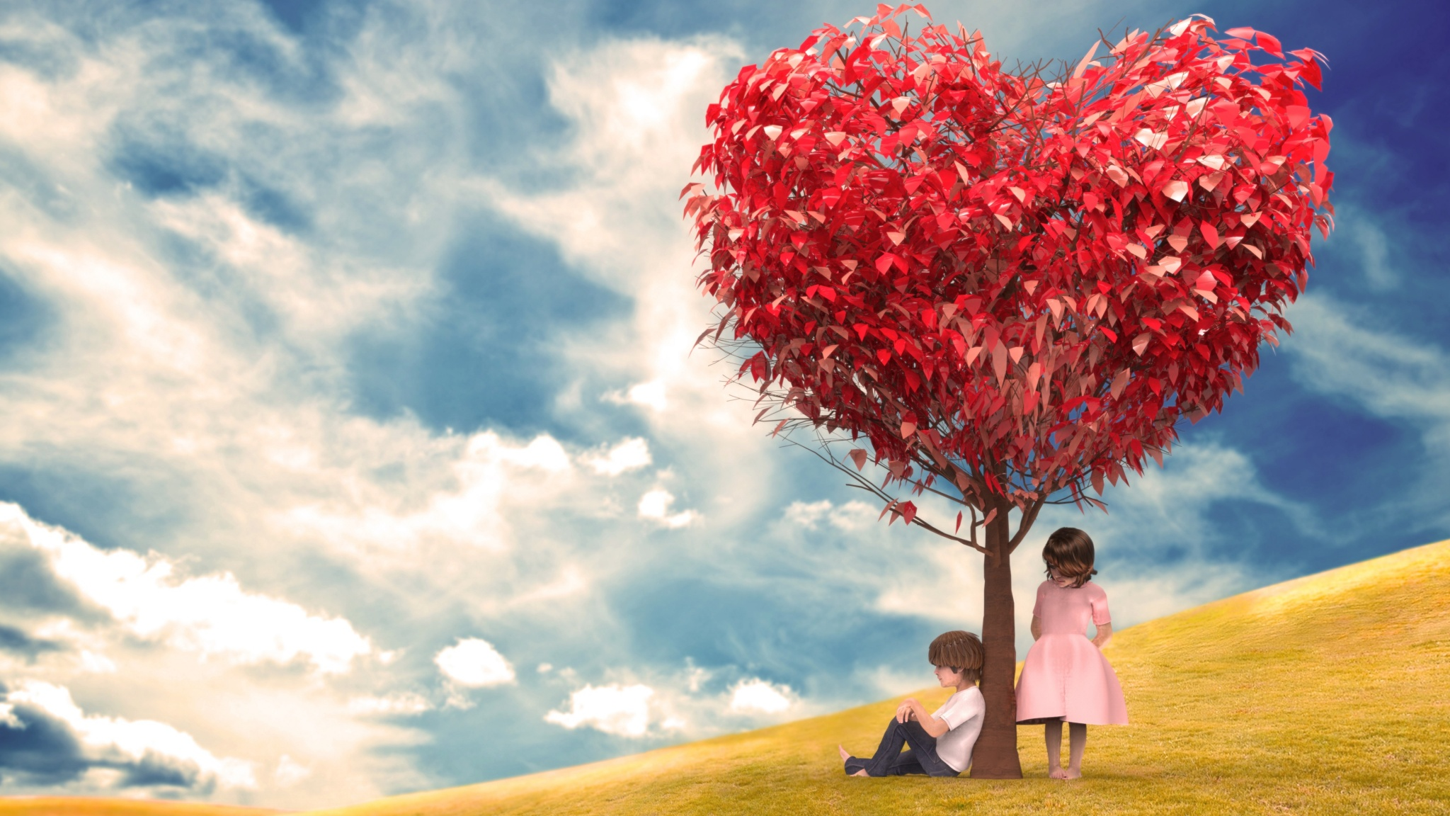 Romantic Baby Couple Wallpapers