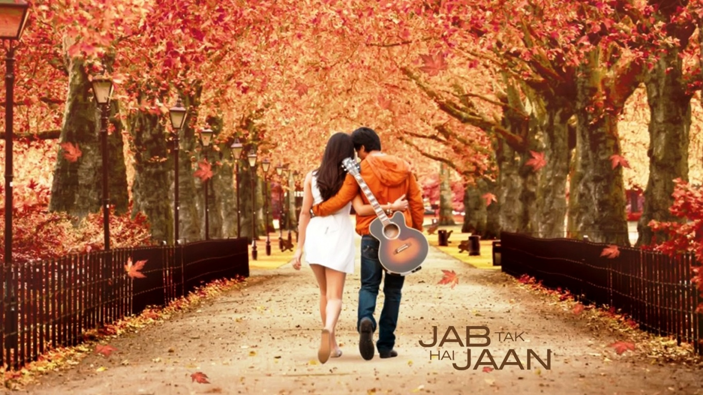Romantic Jab Tak Hai Jaan  Jab Tak Hai Jaan Wallpapers Hd 1366x768
