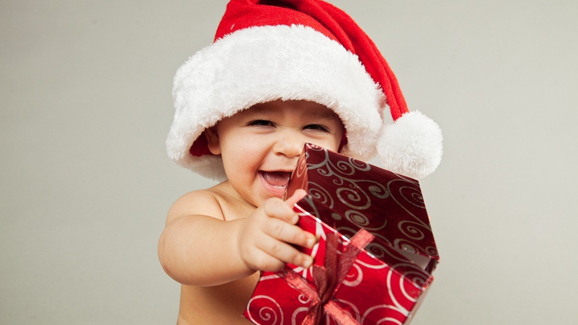 Santa claus new year baby wallpapers 1920x1080 311783 santa claus new year baby voltagebd Image collections