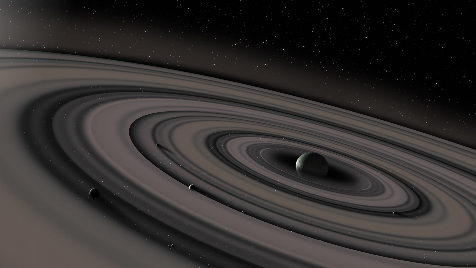 Saturn Planet And Ring Wallpapers 1920x1080 302988
