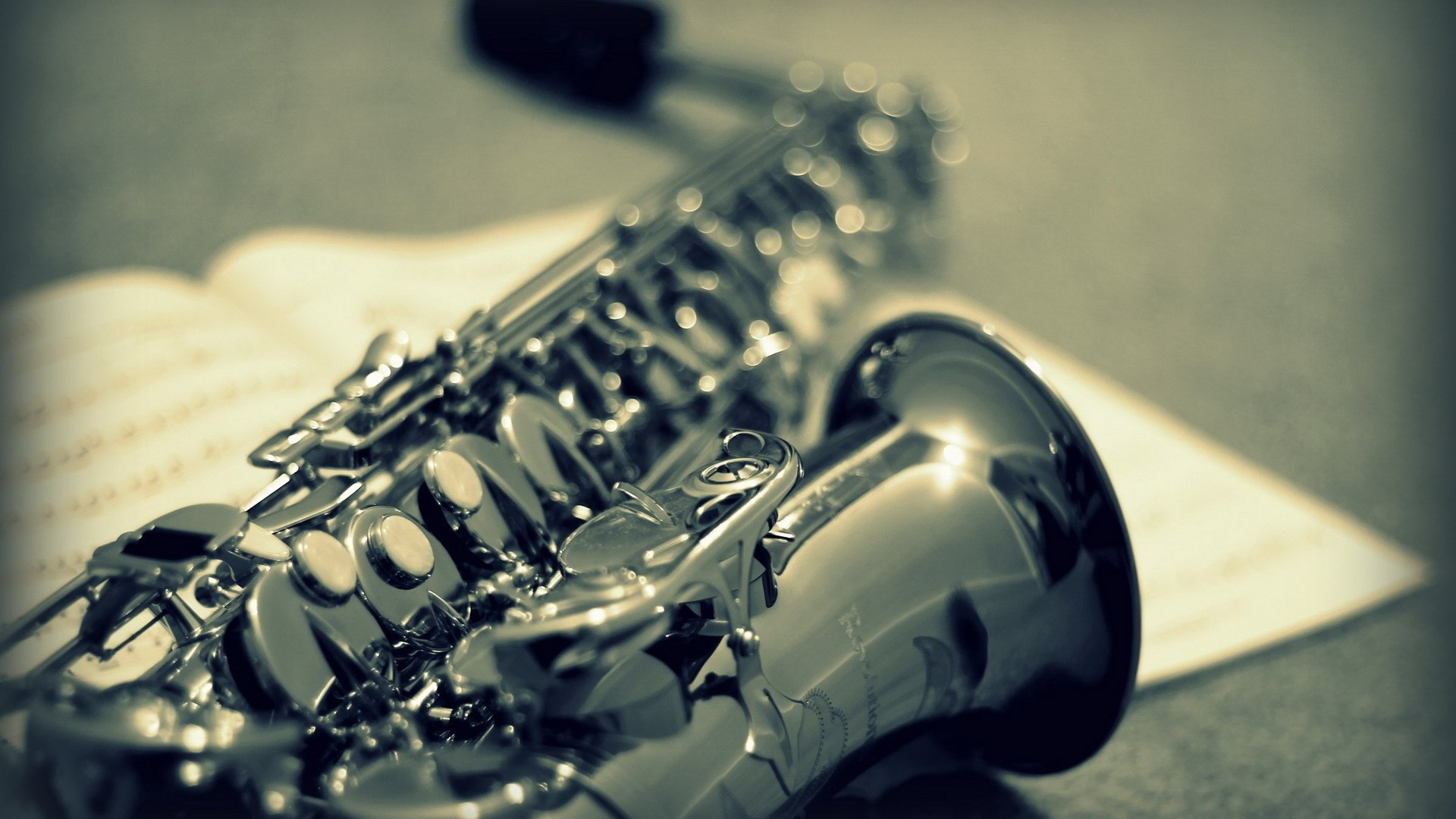 Saxophone Music Instrument Wallpapers 1920x1080 406907