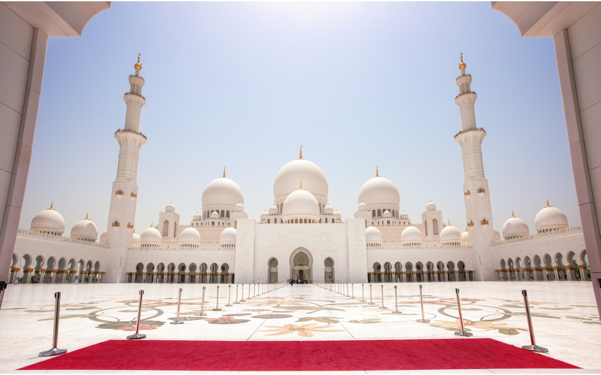 Sheikh zayed grand mosque in abu dhabi wallpapers for 3d wallpaper for home uae