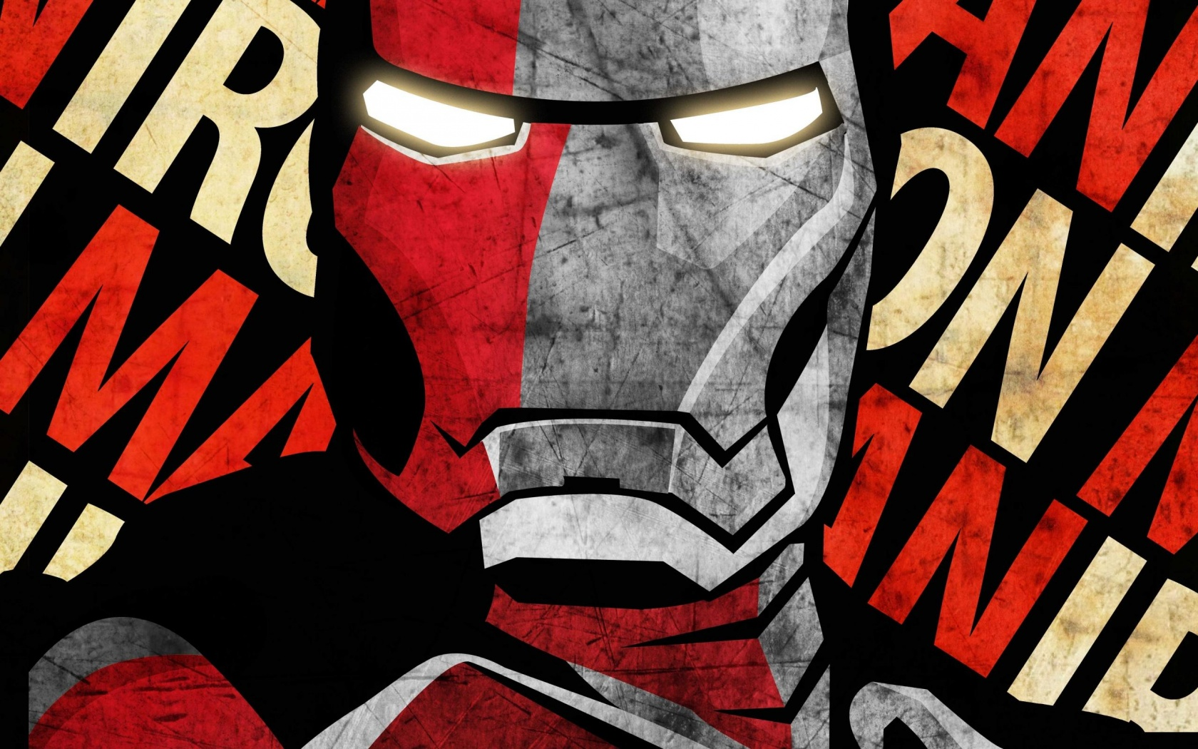 Shepard Fairey Iron Man  1680 X 1050 Download Close