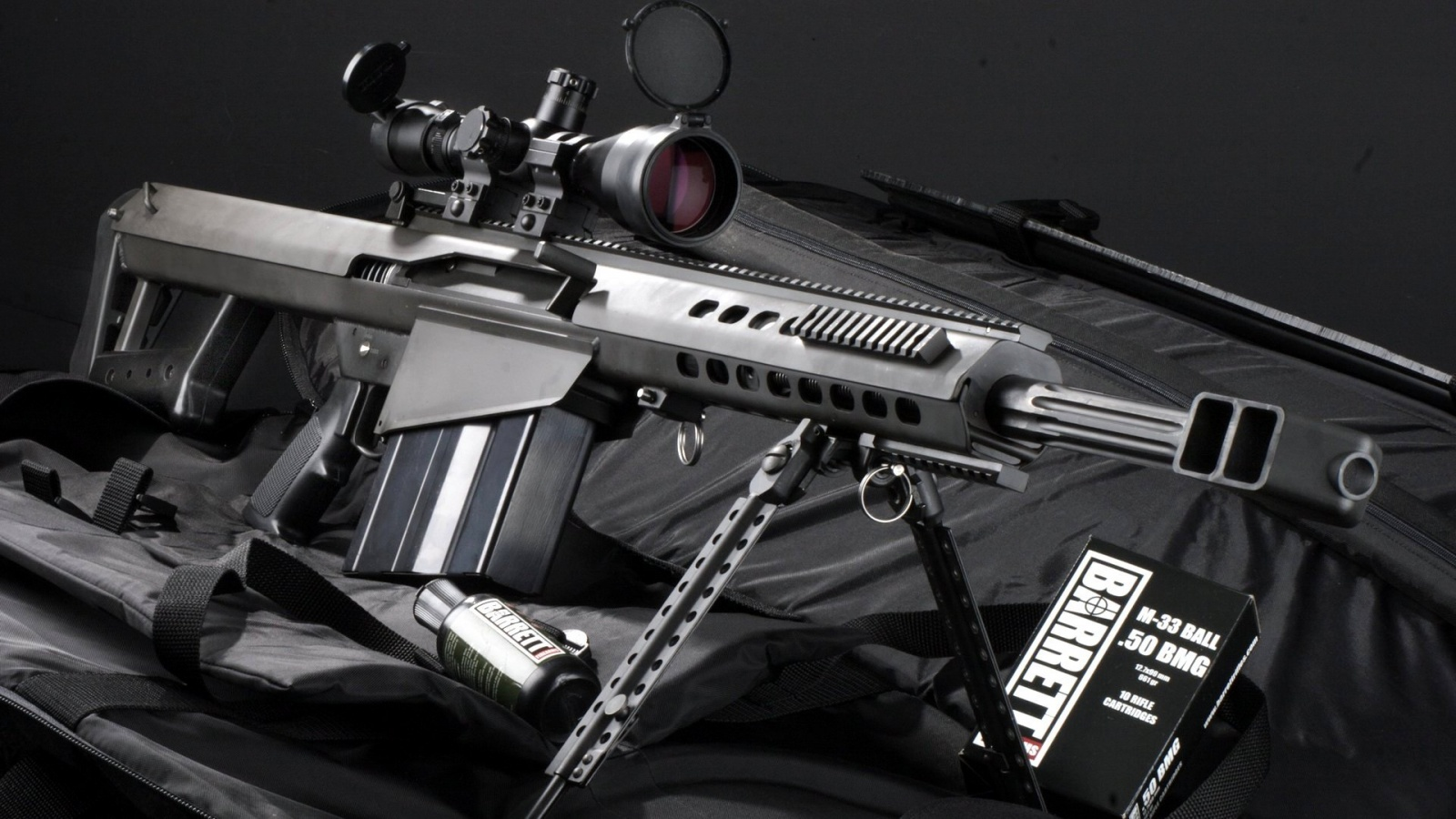 Sniper Rifle M82a1 Wallpapers - 852x480 - 136585