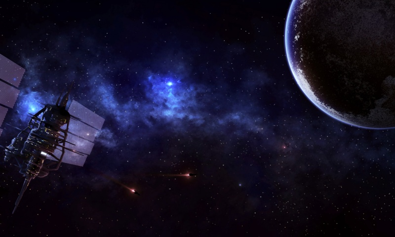 Space Wallpaper 800x480