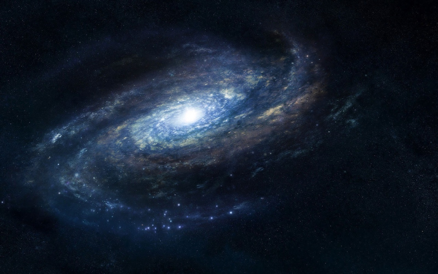 Space blue galaxy 1440 x 900 download close