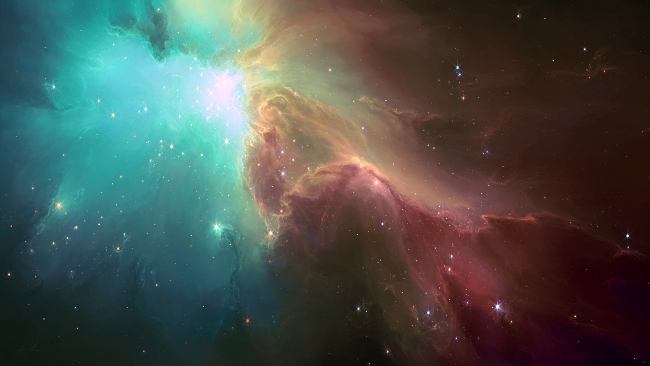 Space Stars Nebula The Light Wallpapers - 1280x720 - 184224
