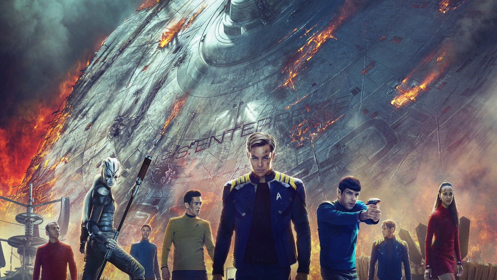 Star Trek Beyond All Characters Wallpapers - 1920x1080 ...