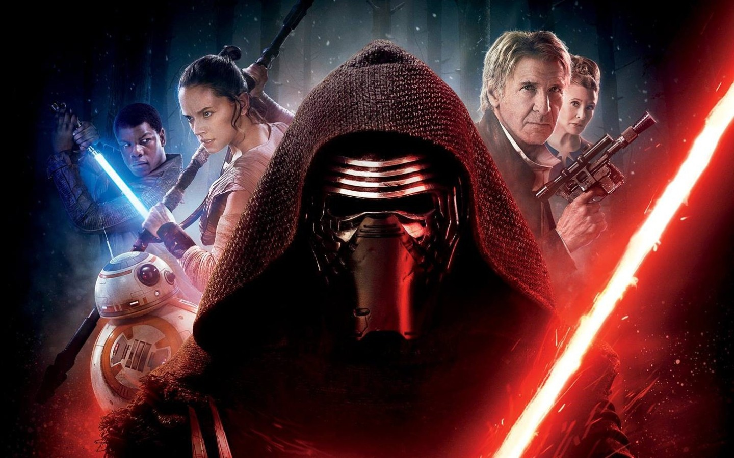 star wars the force awakens hollywood movie wallpapers - 1440x900