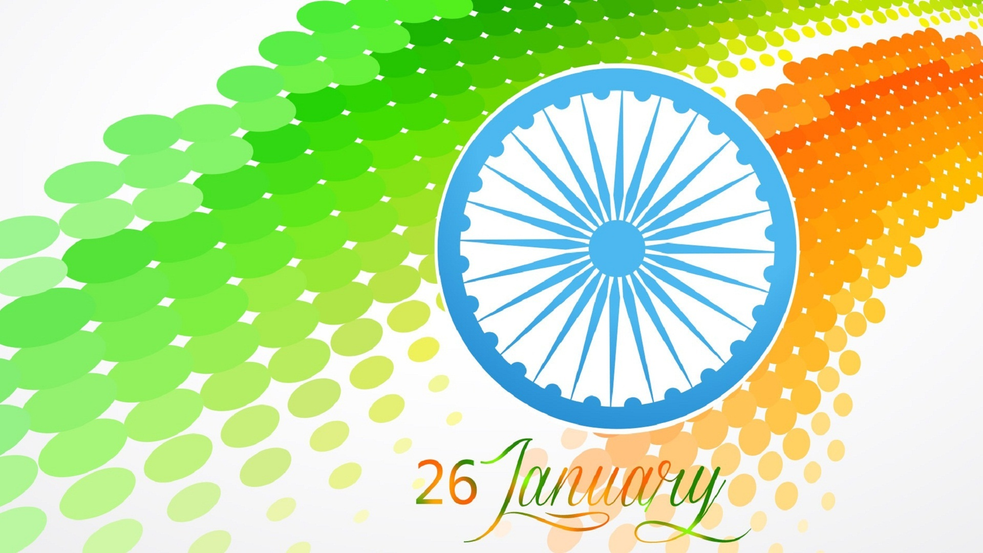 Stylish Indian Flag At 26 January Wallpapers