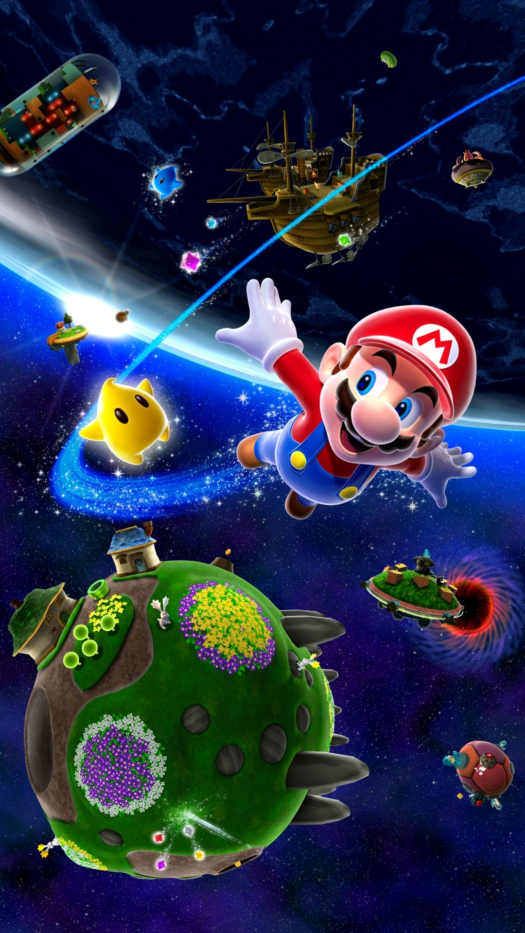 Super Mario Galaxy Wallpapers 1080x1920 789559