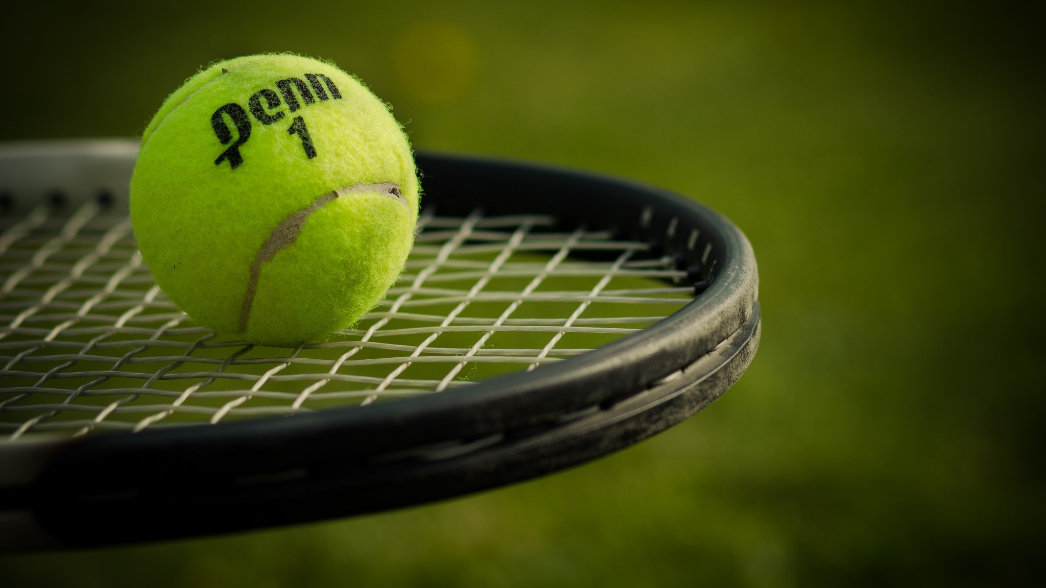 Tennis Ball And Racket Sports