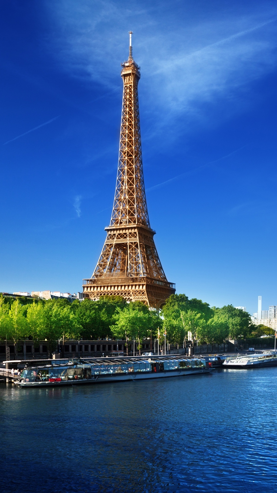 The Eiffel Tower River Wallpapers 1080x1920 614859