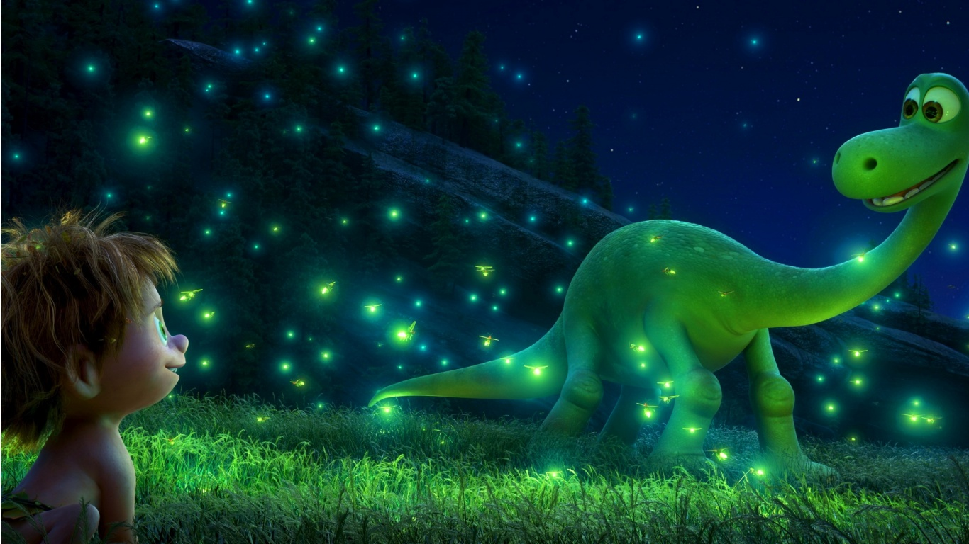 The Good Dinosaur 3d Animated Wallpapers 1366x768 327605