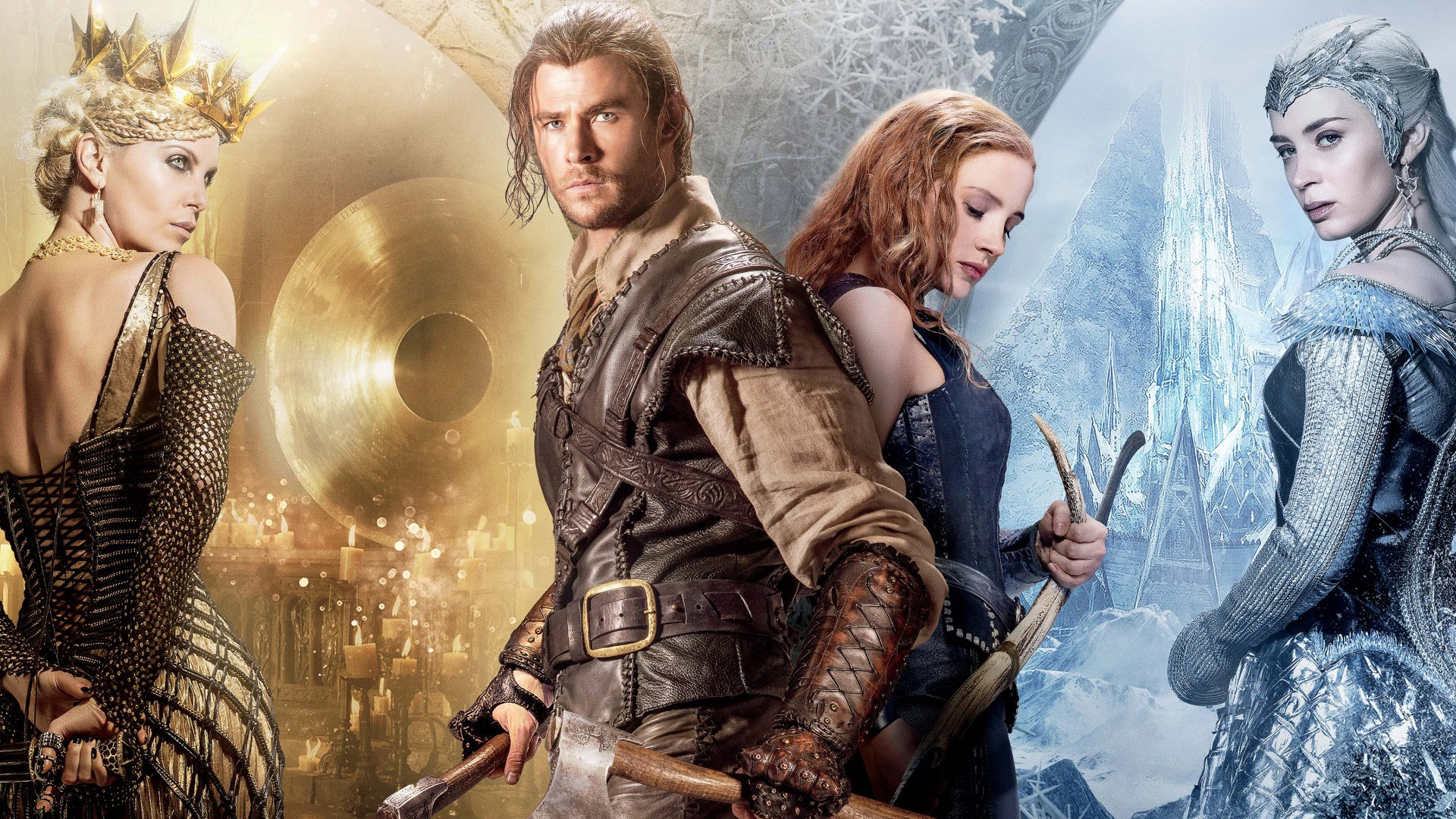 The Huntsman Winters War Hollywood Movie Wallpapers 1920x1080