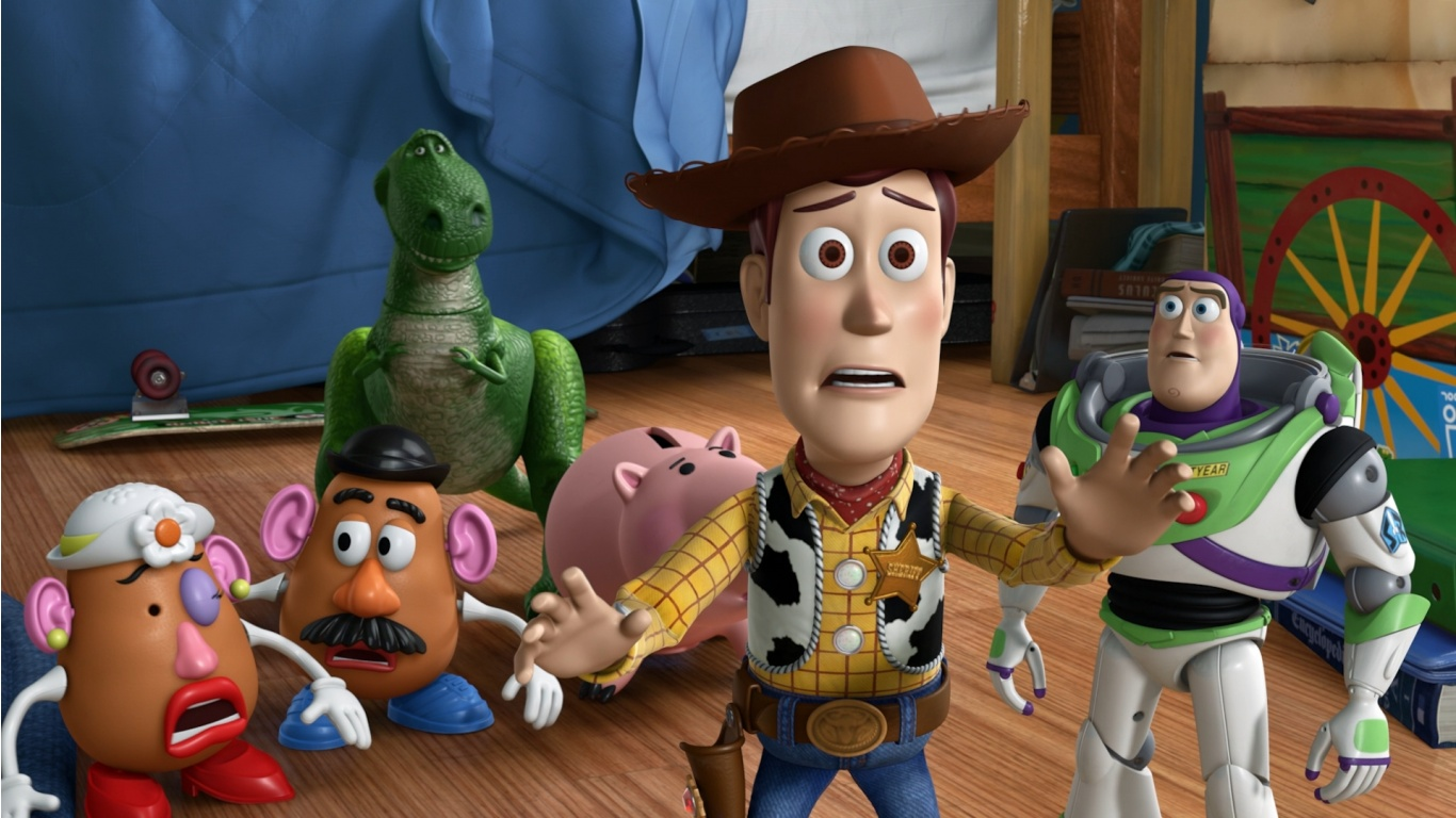 Toy Story 3 In Woody   1366 X 768   Download   Close