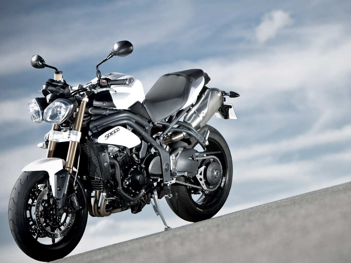 triumph speed triple wallpapers - 1400x1050 - 342879