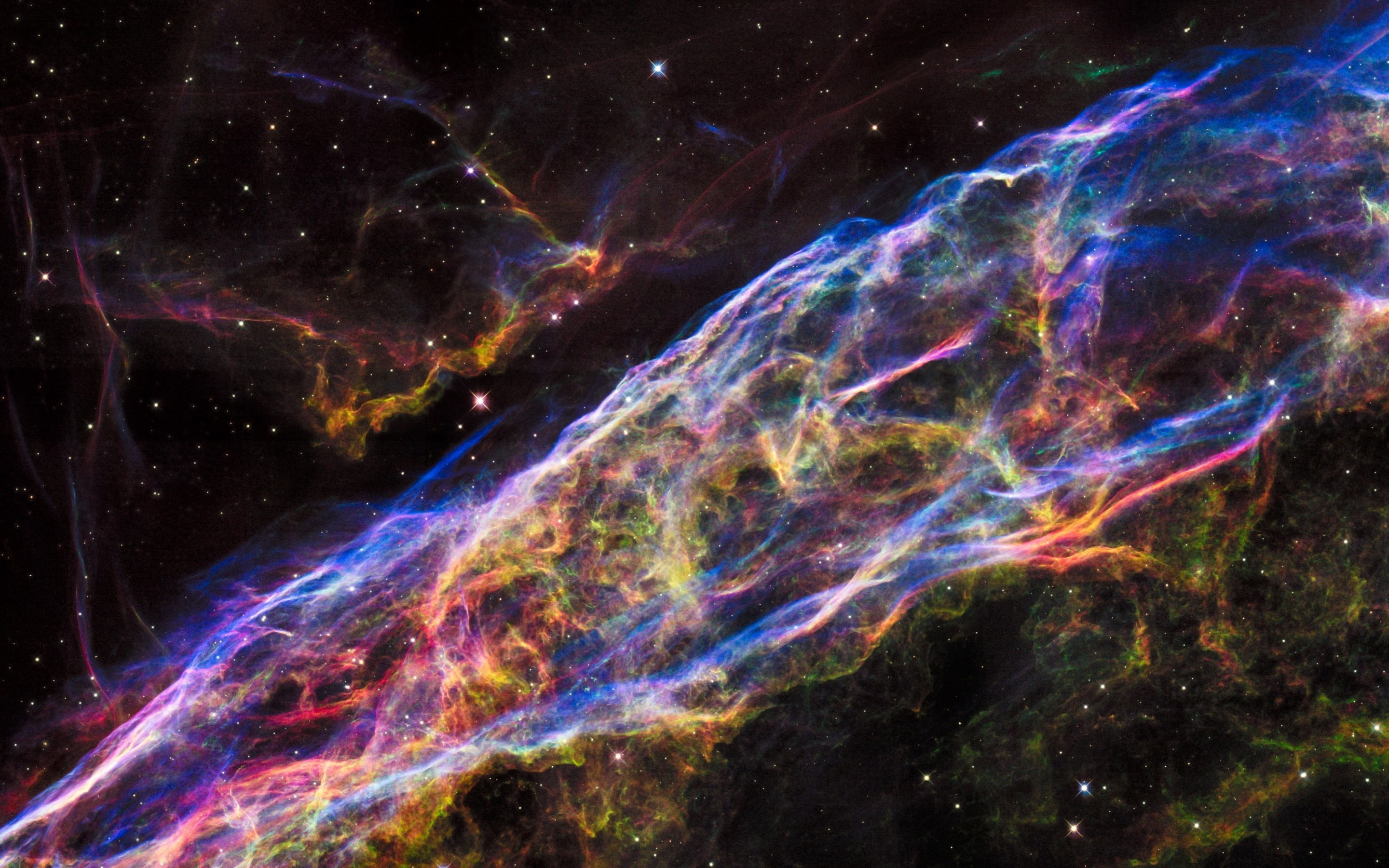 veil nebula hubble wallpapers - 2880x1800 - 1550380