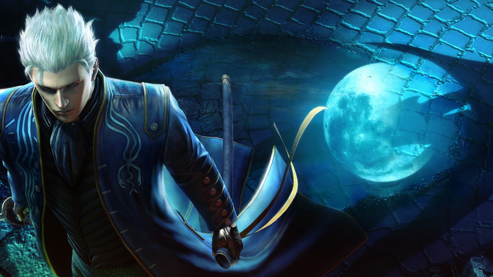 Vergil Devil May Cry 4 Special Edition Wallpapers