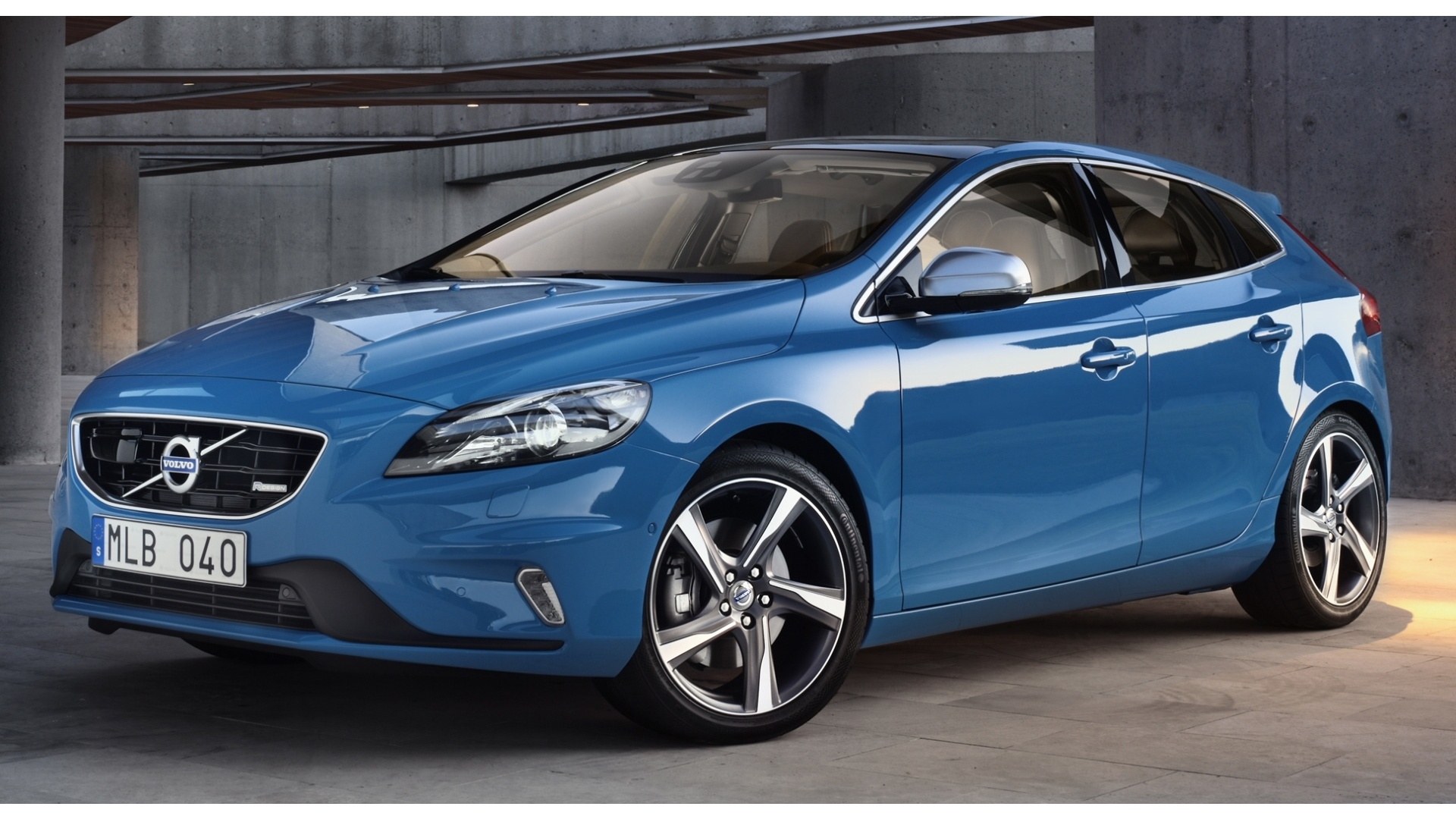 volvo v40 r design wallpapers 1920x1080 530566. Black Bedroom Furniture Sets. Home Design Ideas