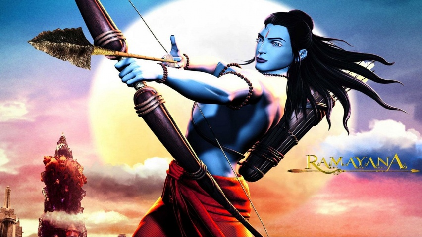 Warrior Lord Ram Wallpapers 852x480 163330