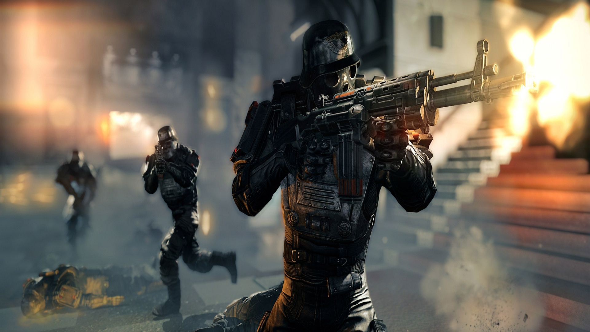 Wolfenstein the new order screen shorts wallpapers for Order wallpaper