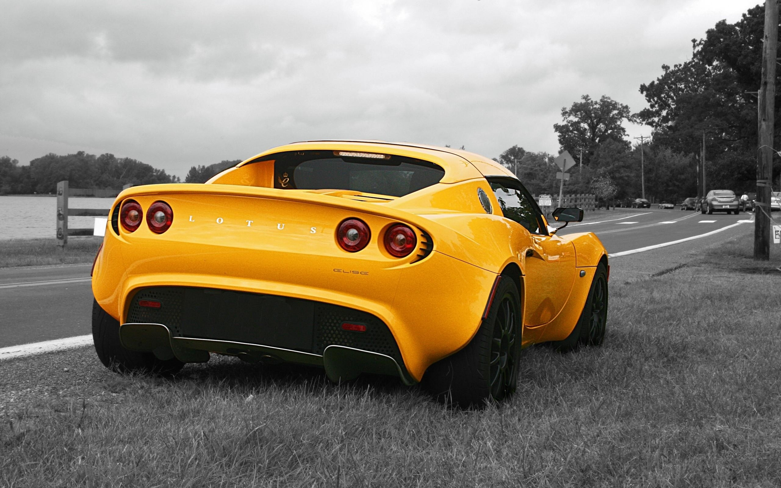 yellow lotus elise cars - photo #1