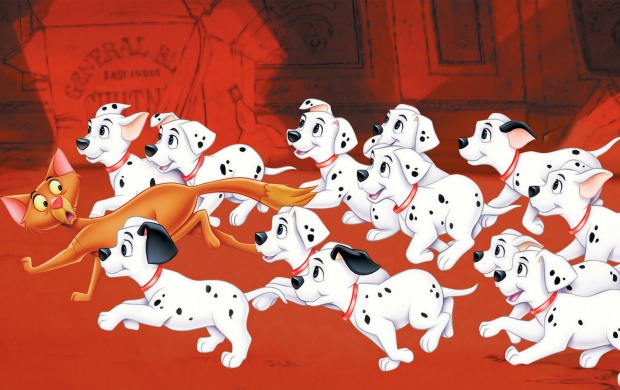 101 Dalmatians Running (click to view)