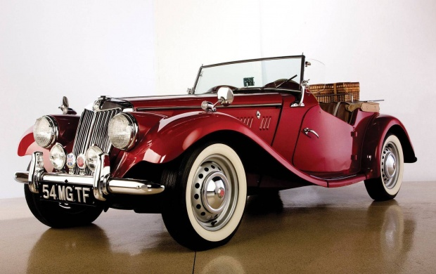 1954 MG TF Roadster (click to view)