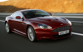 2008 Aston Martin DBS Red
